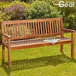 Garden Gear Acacia 3-Seater Garden Bench