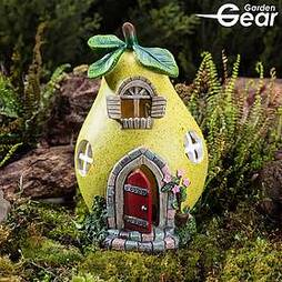 Garden Gear Solar LED Fruit Houses - Pear