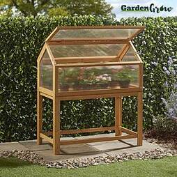 Garden Grow Raised Wooden Cold Frame