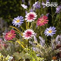 Garden Gear Metal Daisy Stake Set of Six
