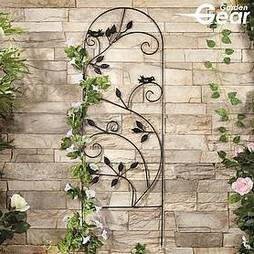 Garden Gear 1.2M Metal Plant Support - Leaves
