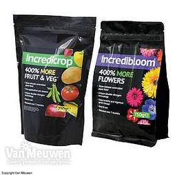 incredibloom® and incredcrop® duo
