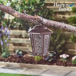 Happy Beaks Carriage-Style Lantern Seed Feeder