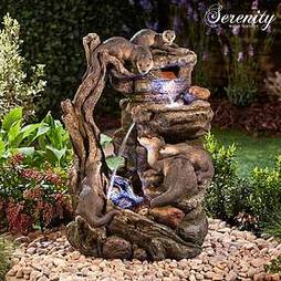 Serenity XL Otter Family Water Feature
