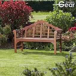 Garden Gear Acacia Lutyens Bench