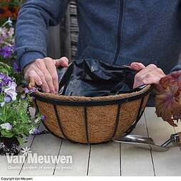 Garden Grow Hanging Basket & Liner
