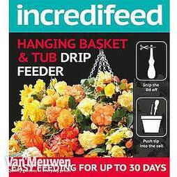 IncrediFeed Hanging Basket & Tub Drip Feeder