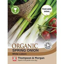 Spring Onion 'White Lisbon' - Organic Seeds