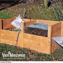 Modular Wooden Compost Bin
