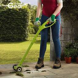 Garden Gear Electric Weed Sweeper with Spare Brushes