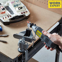 Work Expert 135W Rotary Multi Tool with 233 Accessories