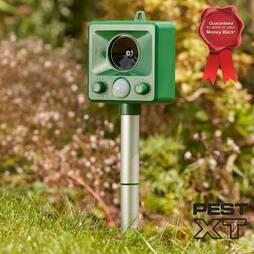 Pest XT Ultrasonic Battery Powered Cat Repeller  Pack of 3
