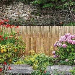 Bamboo Slat Fence 120 X 400CM